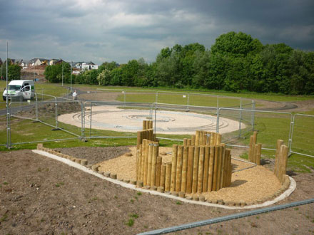 Hard Landscaping and Playground Construction Kidderminster, Stourport and Worcester